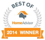 "Home Advisor ""Best Of"" Winner"